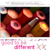 be different by hiriell
