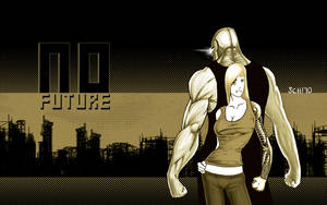 No Future Wallpaper by AKsolut