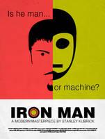 Stanley Kubrick Iron Man by AKsolut