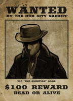 Vic Sage - Wanted by AKsolut
