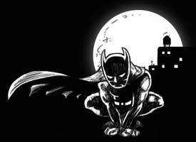 Batman warmup by AKsolut
