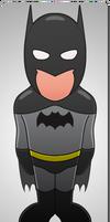 Superminis #3: Batman by AKsolut