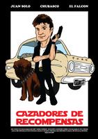 Juan Solo, Chubasco y el Falcon Milenario by AKsolut