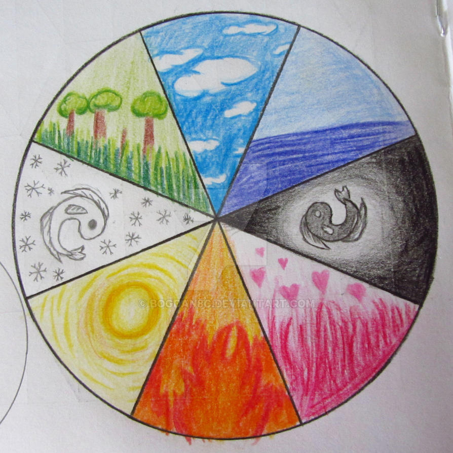 Color Wheel Ideas To Draw