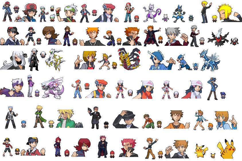Pokemon Universe Sprites by LeeHatake93