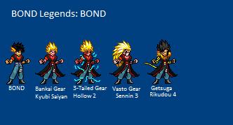 BOND Legends: BOND by LeeHatake93