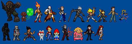 PlayStation Sprite-Stars