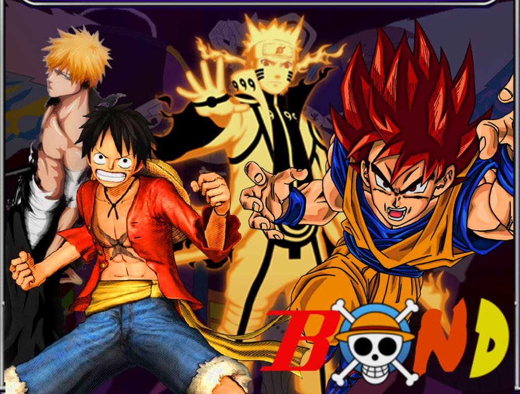 Top Goku Vs Naruto Vs Ichigo Vs Luffy Vs Natsu Images for ...