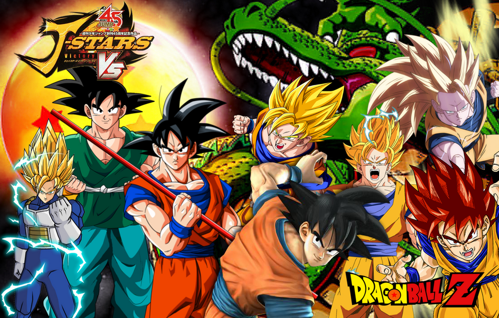 Imagen De Goku Kakaroto Normal Fase 1 Fase Dos Fase 3 Fase: J-Stars: Goku By LeeHatake93 On DeviantArt