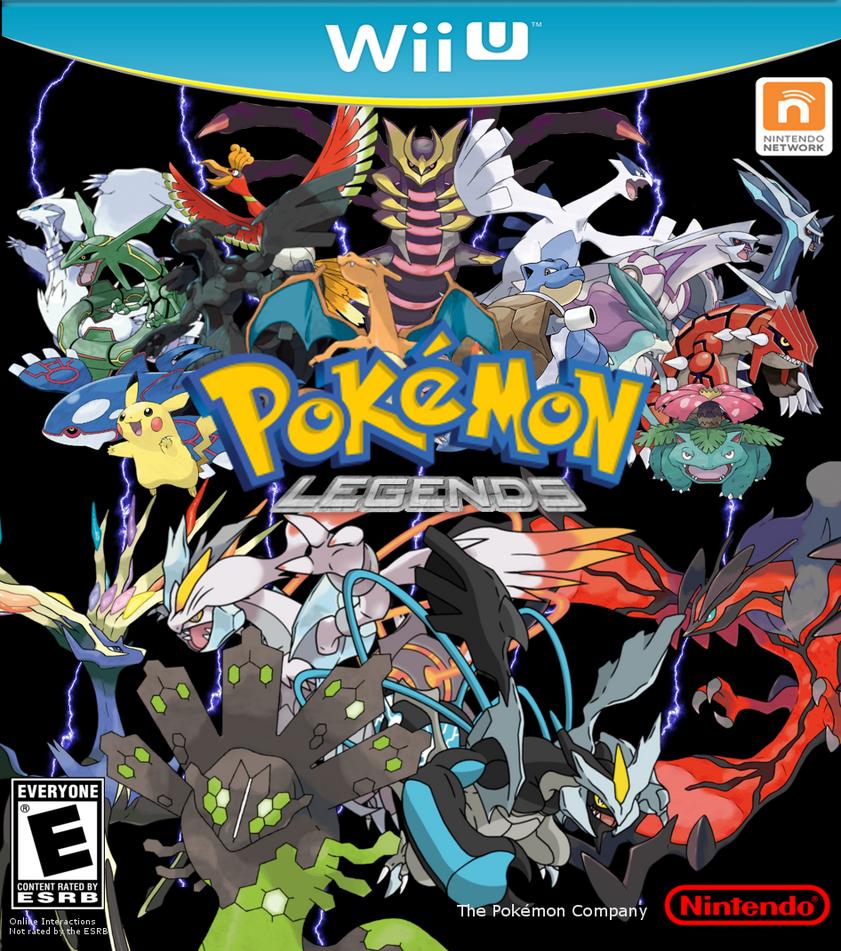 Pokemon Legends Wii U Reboot By Leehatake93 On Deviantart