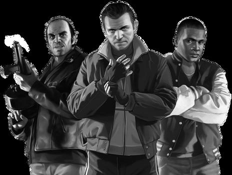 Grand Theft Auto V: GTA IV Costumes by LeeHatake93