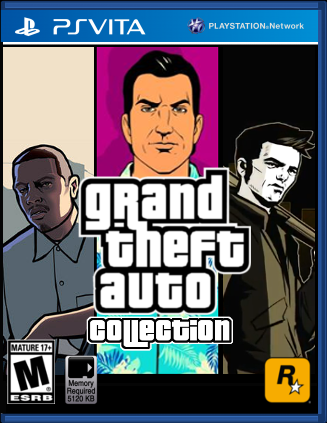 PlayStation Vita: Grand Theft Auto Collection by LeeHatake93 on ...