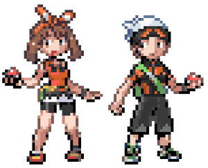 ORAS Brendan and May: GBA Style