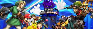PS x Nintendo: Super Smash Bros All-Stars Banner