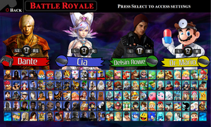 PlayStation X Nintendo: New Roster by LeeHatake93