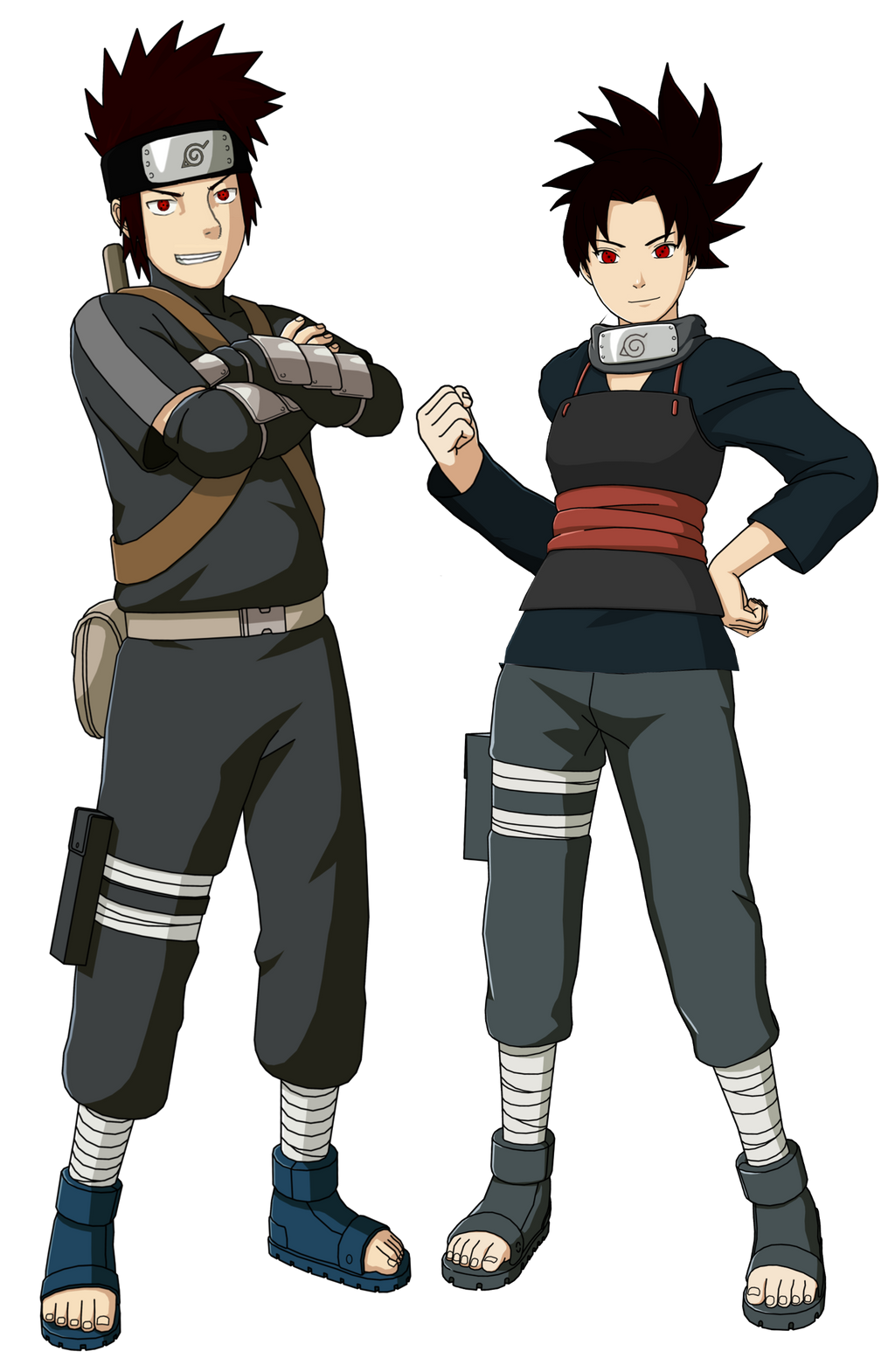 The Crossover Game: Jin and Aoi Hatake by LeeHatake93 on ...