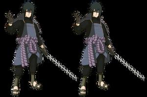 The Crossover Game: Brawl Legends Sasuke by LeeHatake93