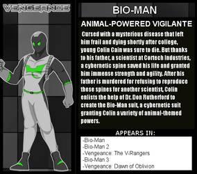 TxL: Bio-Man Bio by LeeHatake93