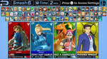 Super Smash Bros. Next: Character Roster