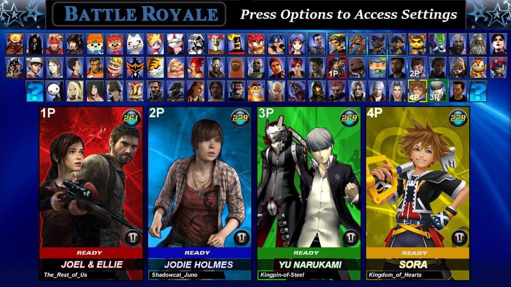 PlayStation All-Stars Round 2: Roster V2