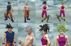 Soulcalibur V: Goku and Kefla