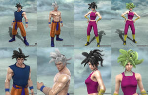 Soulcalibur V: Goku and Kefla