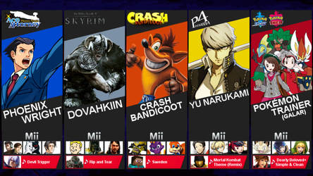 My Smash Ultimate Fighters Pass 2