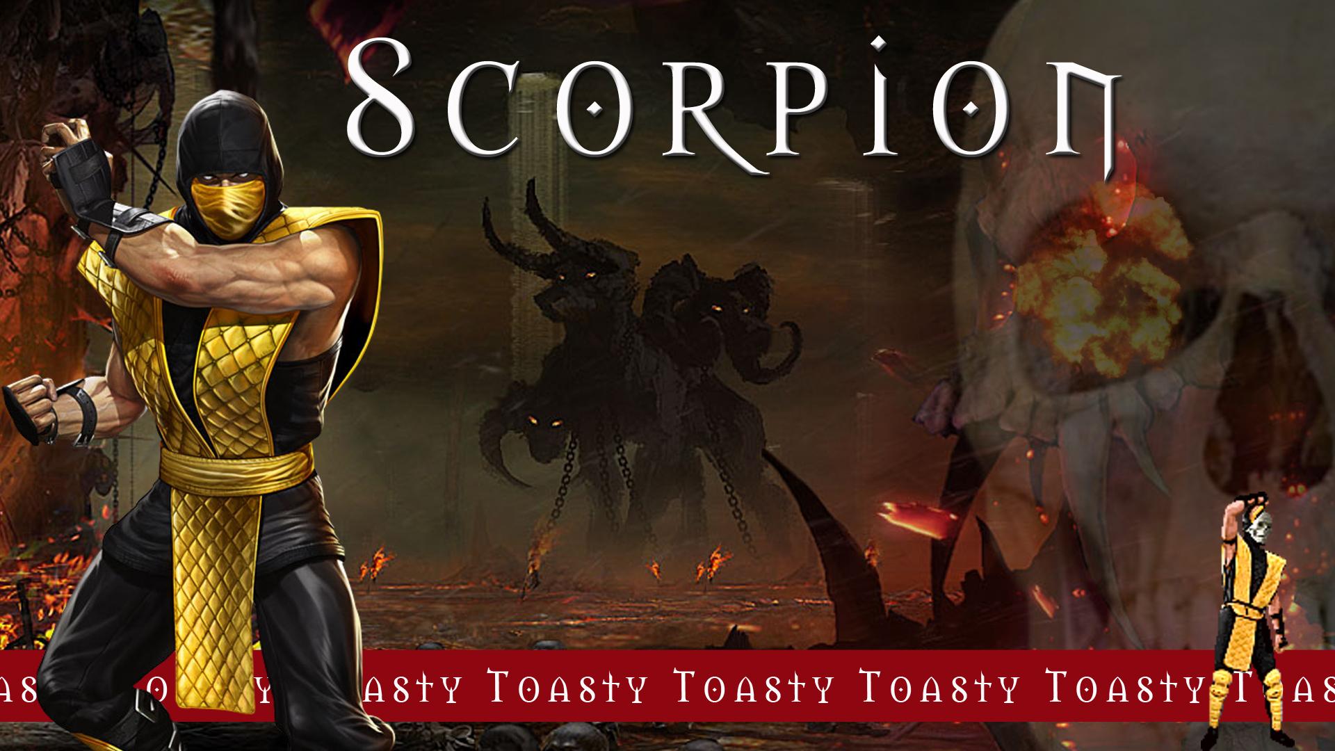 mortal kombat scorpion wallpaper android