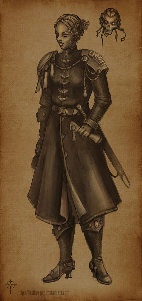 Inquisitor Mora Keeper by FirstKeeper