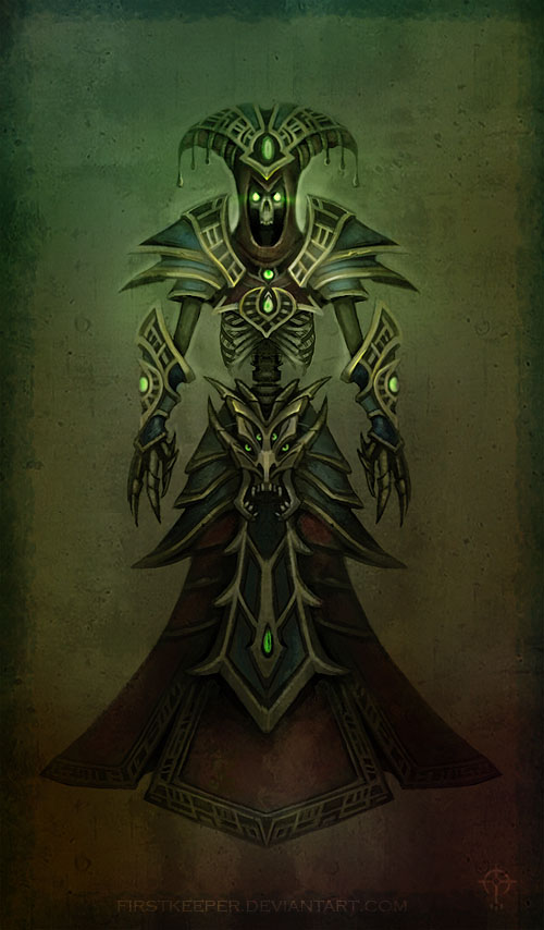 Lich Undead concept by FirstKeeper
