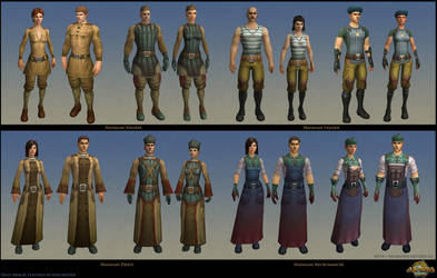Hadagan Armor. Allods Online.