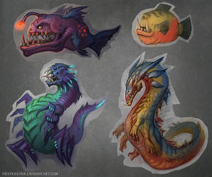 Creatures by FirstKeeper