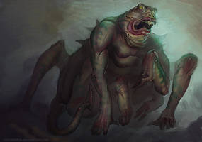 Frog abomination by FirstKeeper
