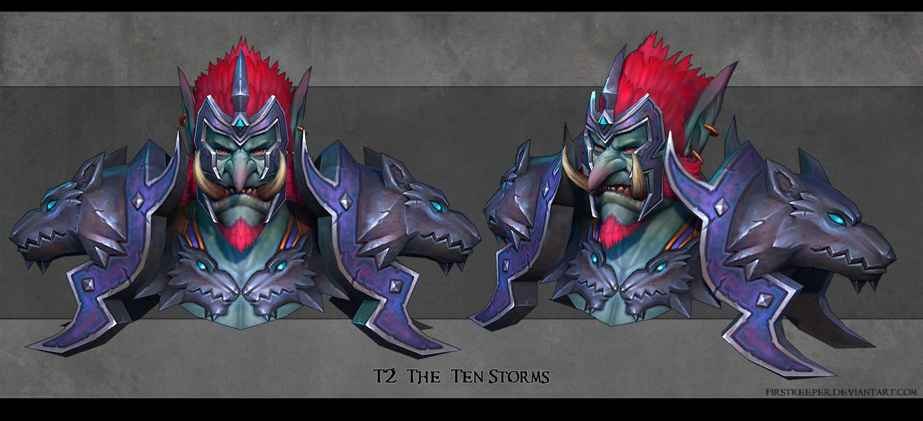 Troll shaman by FirstKeeper