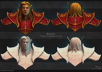 Blood elf. Construction shot. by FirstKeeper