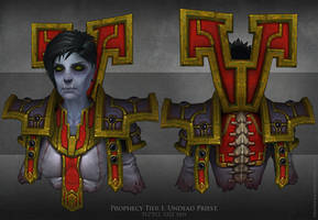 Undead priest by FirstKeeper
