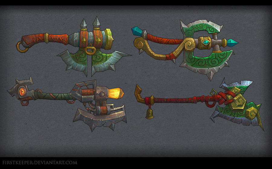 Axes MoP by FirstKeeper