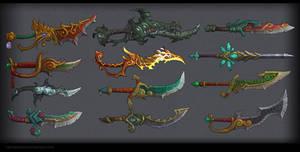 Daggers,swords MoP