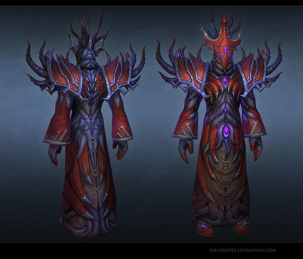 Warlock pvp armorset 13 by FirstKeeper