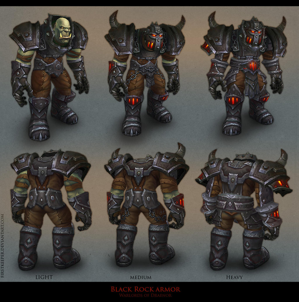BlackRock armor by FirstKeeper