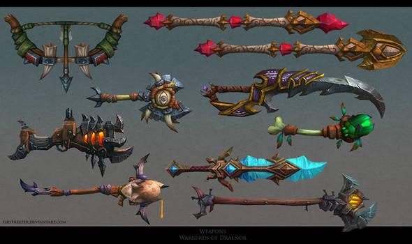 Draenor weapons