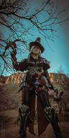 Valla Vampire  Hunter cosplay 04 by FirstKeeper