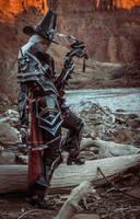 Valla Vampire Hunter cosplay 05 by FirstKeeper
