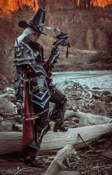 Valla Vampire Hunter cosplay 05