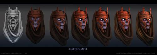 Ostrogoth Head