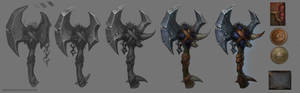 Weapon concept step by step