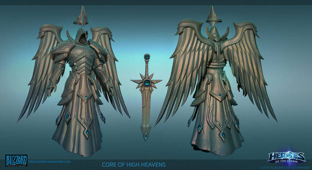 Heaven Core Hipoly by FirstKeeper