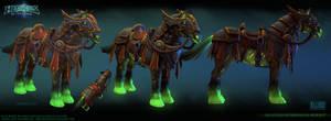 Horseman's horse