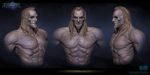 Necromancer Face Sculpt