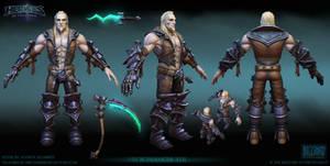 Necromancer Xul  base skin Final
